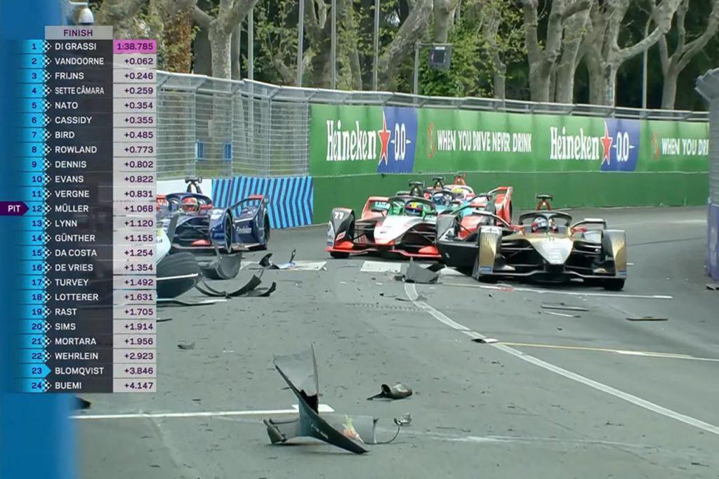 Formula E | Spaventoso incidente nelle prove libere, Turvey centra Dennis e Vergne [VIDEO]