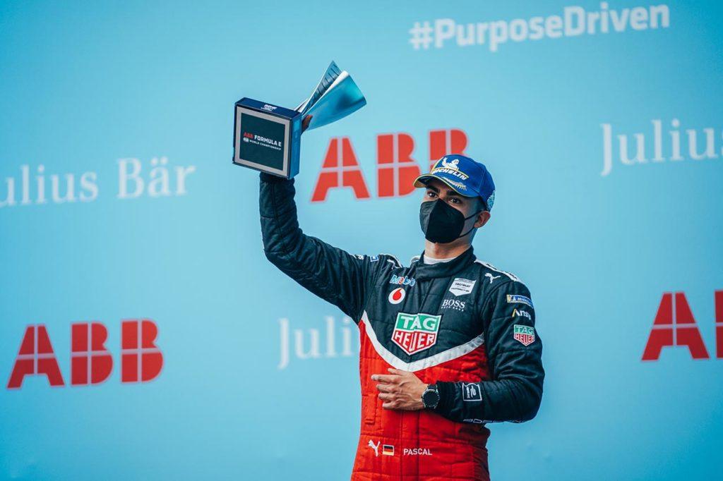 Formula E   Wehrlein ottiene il primo podio con Porsche nell'ePrix di Roma