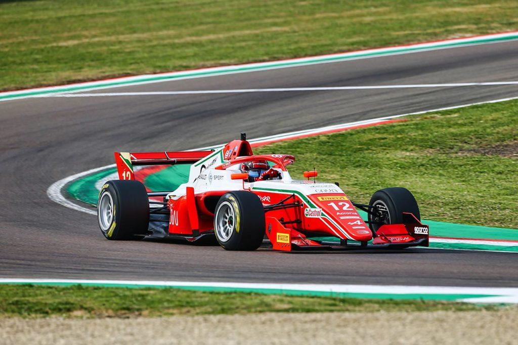 Formula Regional by Alpine   Imola, Qualifiche 2: doppietta Prema con Vidales e Aron