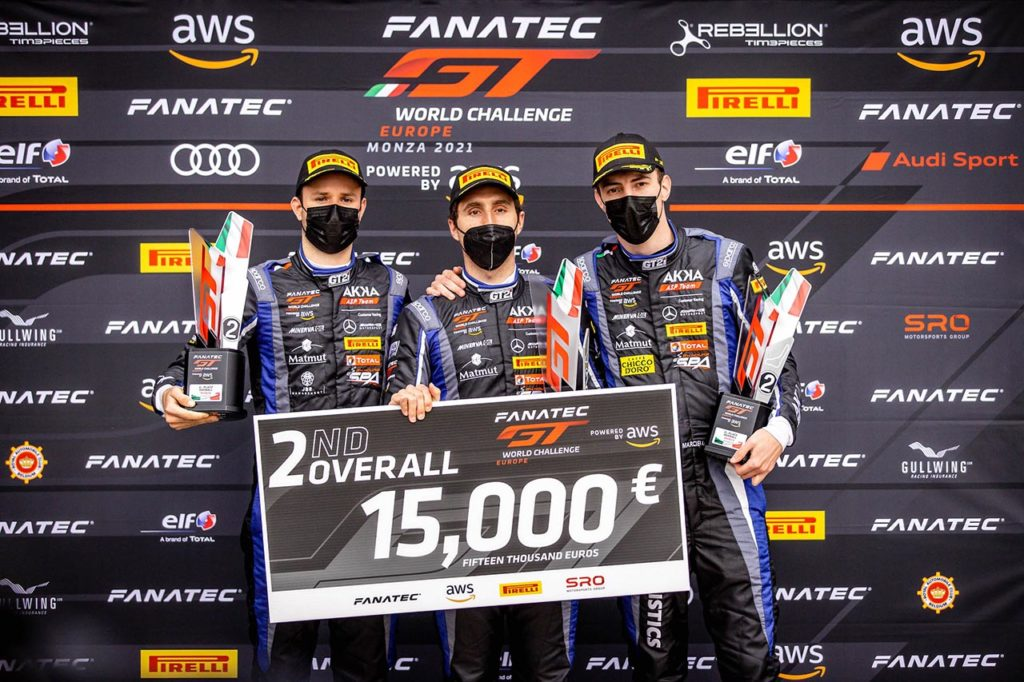GTWC Europe | Mercedes-AMG a podio nel primo round stagionale a Monza con AKKA ASP