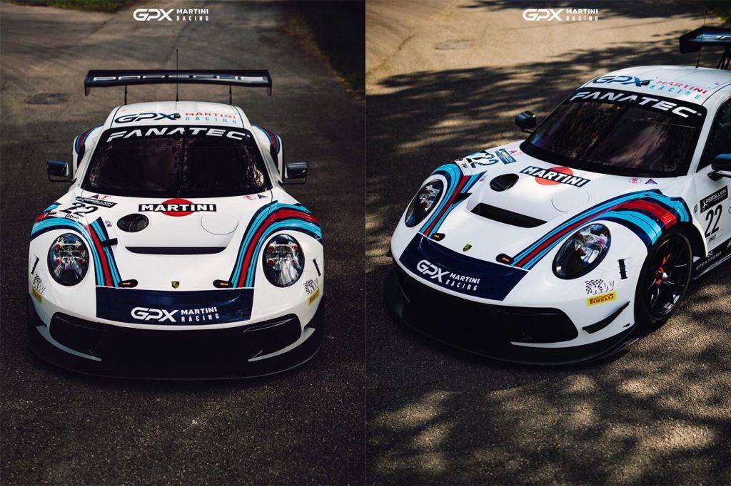 GTWC Europe | GPX Racing celebra la livrea Martini sulla sua Porsche, a 50 anni dalla vittoria a Le Mans