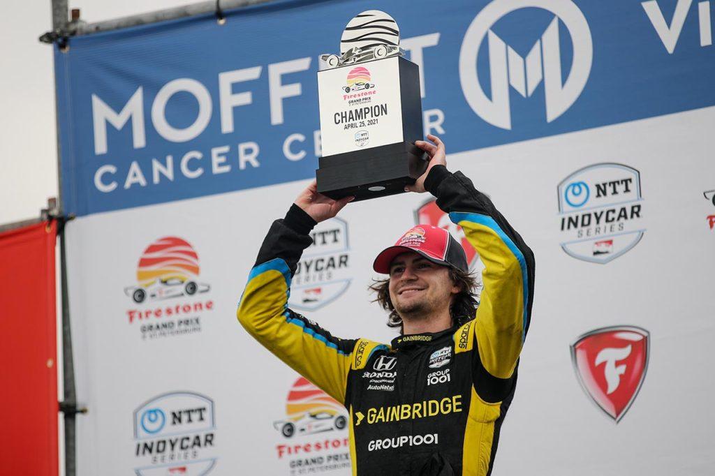 IndyCar   St. Petersburg, Gara: Herta tiene a bada Newgarden nel finale