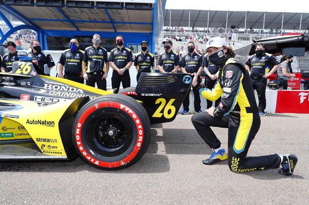 IndyCar   St. Petersburg, Qualifiche: Herta sfreccia con Andretti, sorprende Harvey
