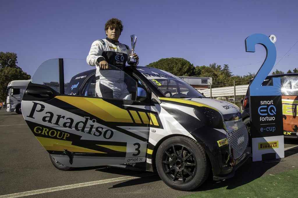 smart EQ fortwo e-cup | Longo, campione Junior 2019, di nuovo al via con Paradiso Group