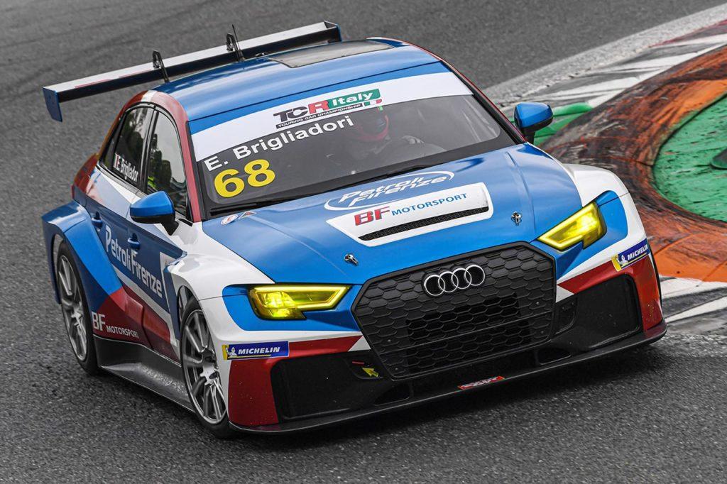 TCR Italy | Monza, Qualifiche: tra pioggia e asciutto la spunta Brigliadori con Audi
