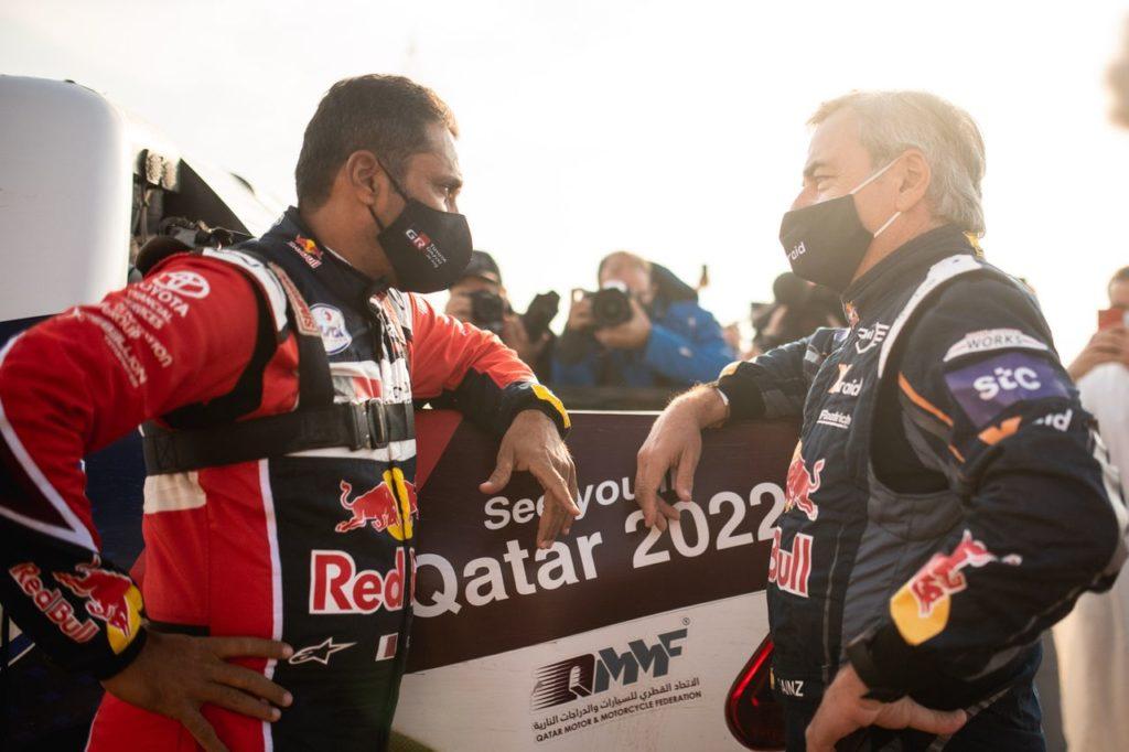 Sainz ed Al Attiyah, volano stracci dopo il Rally Andalusia