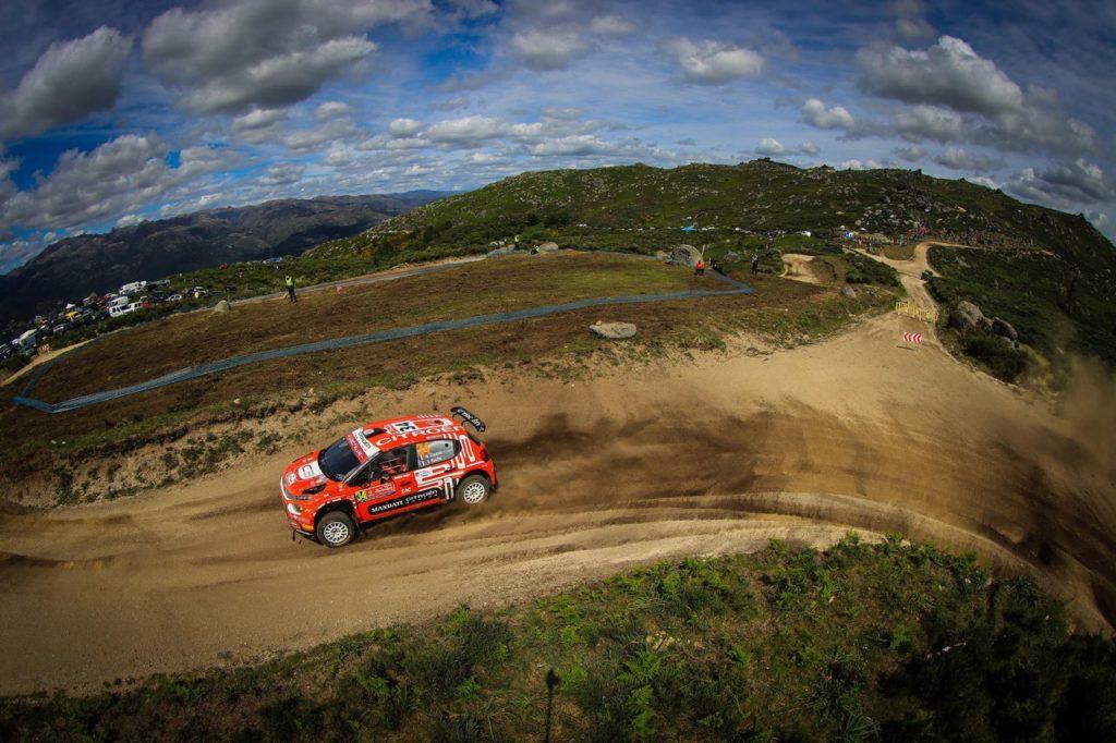 WRC   Il Rally Portogallo di Citroen: in salita la gara di Ostberg, Rossel sfiora il primo posto di categoria