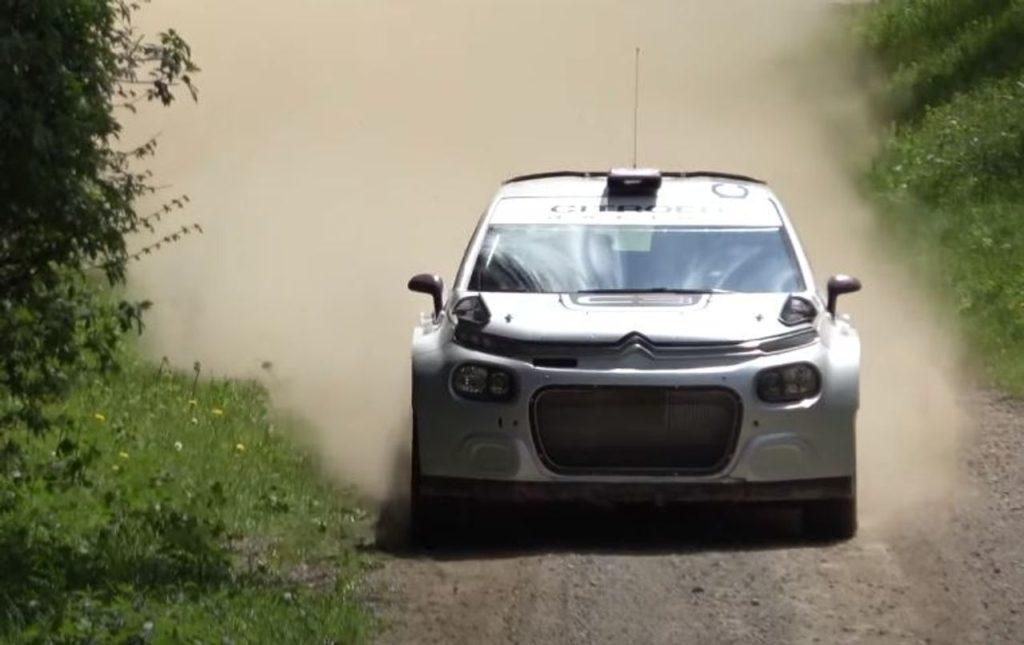 Nuovi test su terra per la Citroen C3 Rally2 (Video). E una C3 WRC privata ha trovato sistemazione in un team