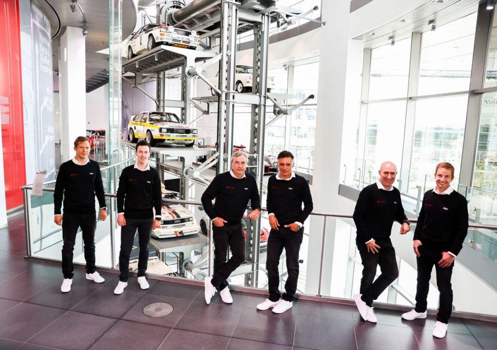 Dakar | Ecco il dream team di Audi per l'edizione 2022: Ekstrom, Sainz e Peterhansel
