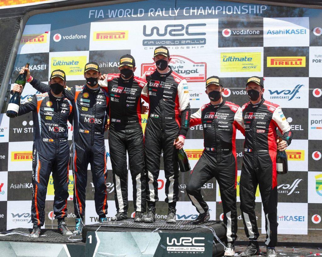 WRC   La costanza premia Evans al Rally Portogallo 2021. E Toyota resta leader del campionato