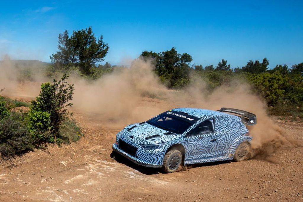 WRC | Hyundai Motorsport svela le prime immagini della nuova i20 N Rally1 in gara dal 2022