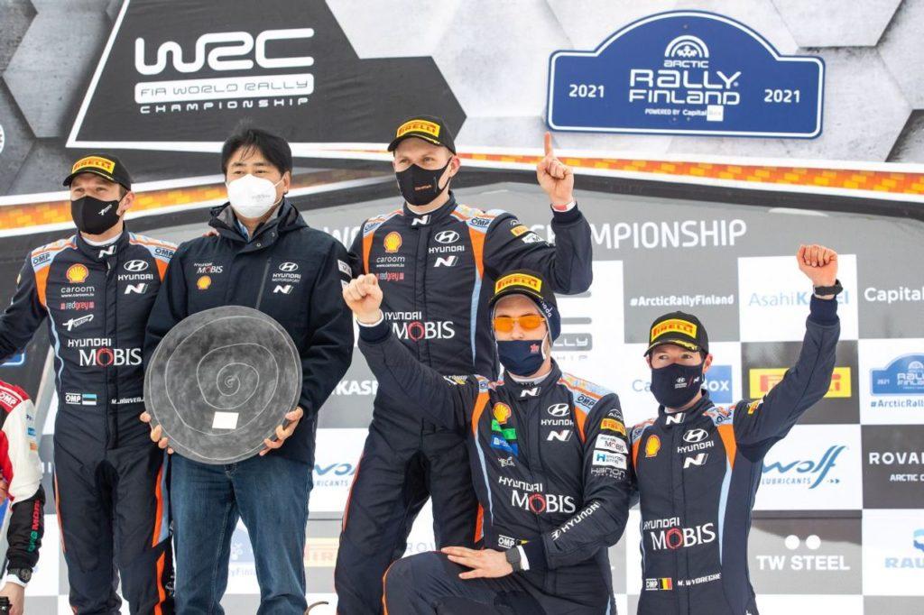 WRC   Hyundai annuncia il rinnovo pluriennale di Neuville e Tanak. Il team impegnato intanto nei test in Sardegna [VIDEO]