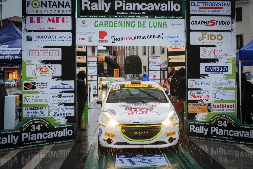Peugeot Competition | 208 Rally Cup Pro, al Piancavallo successi per Gubertini e per Giovanella
