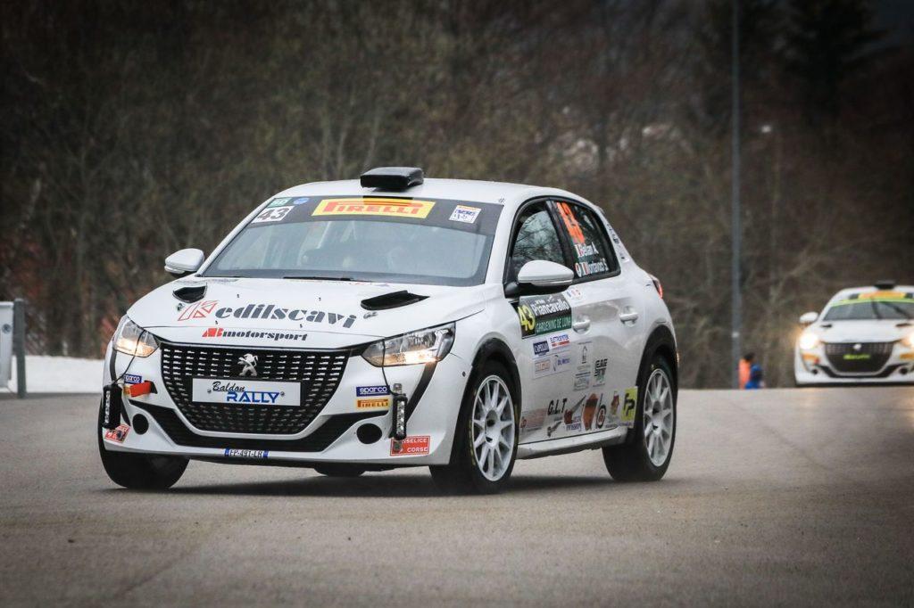 Peugeot Competition   208 Rally Cup Pro, seconda tappa al Rally del Taro