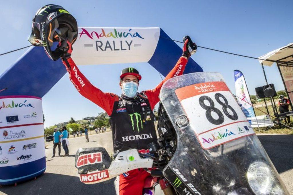Rally Andalusia 2021: Honda vince con Barreda e sale sul podio con Quintanilla. Al Attiyah batte Sainz tra le Auto