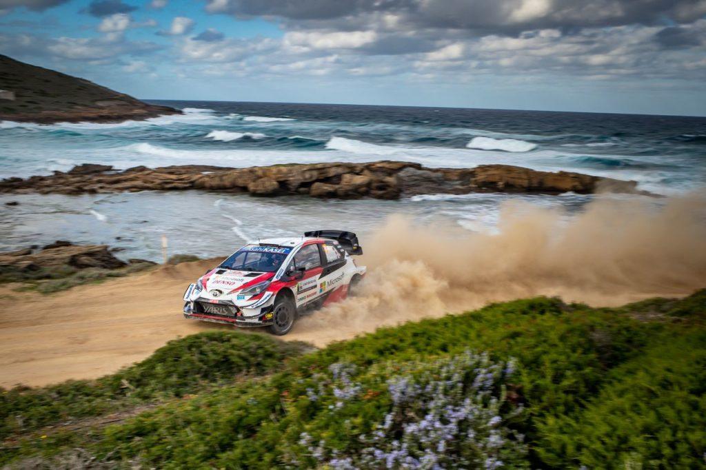 WRC   Rally Italia Sardegna 2021, Toyota punta ad allungare il passo in classifica