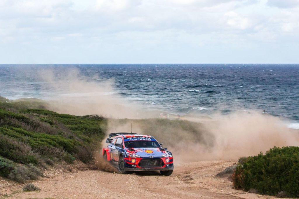 WRC   Rally Italia Sardegna 2021, Hyundai cerca il poker di successi dopo aver vinto le ultime tre edizioni