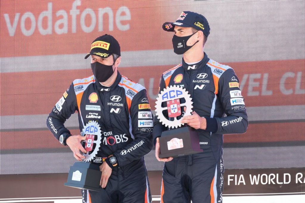 WRC | Sordo sul podio del Rally Portogallo 2021, ma Hyundai si aspettava di più