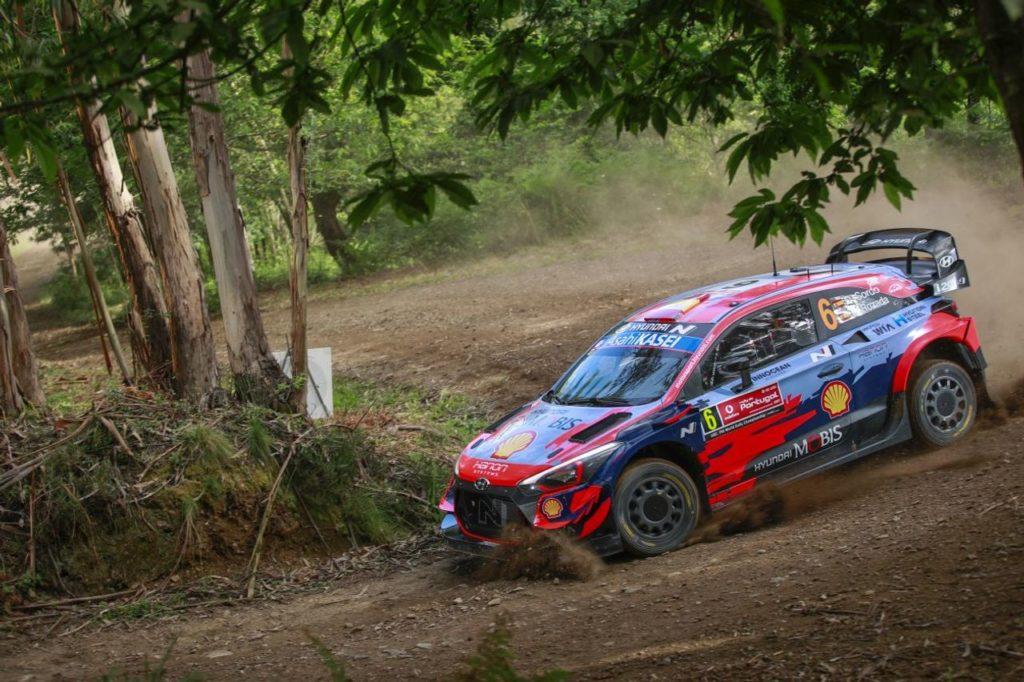 WRC   Parte il Rally di Portogallo 2021: Sordo in testa con il resto degli Hyundai