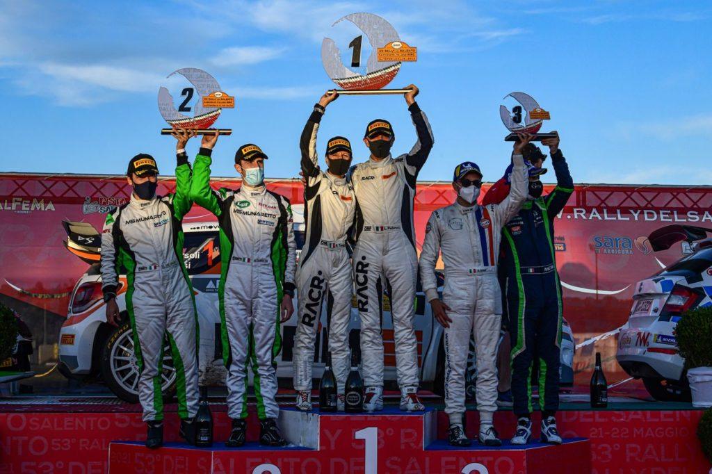 CIWRC   Rally Salento 2021, Pedersoli e Tomasi vincono la seconda di campionato