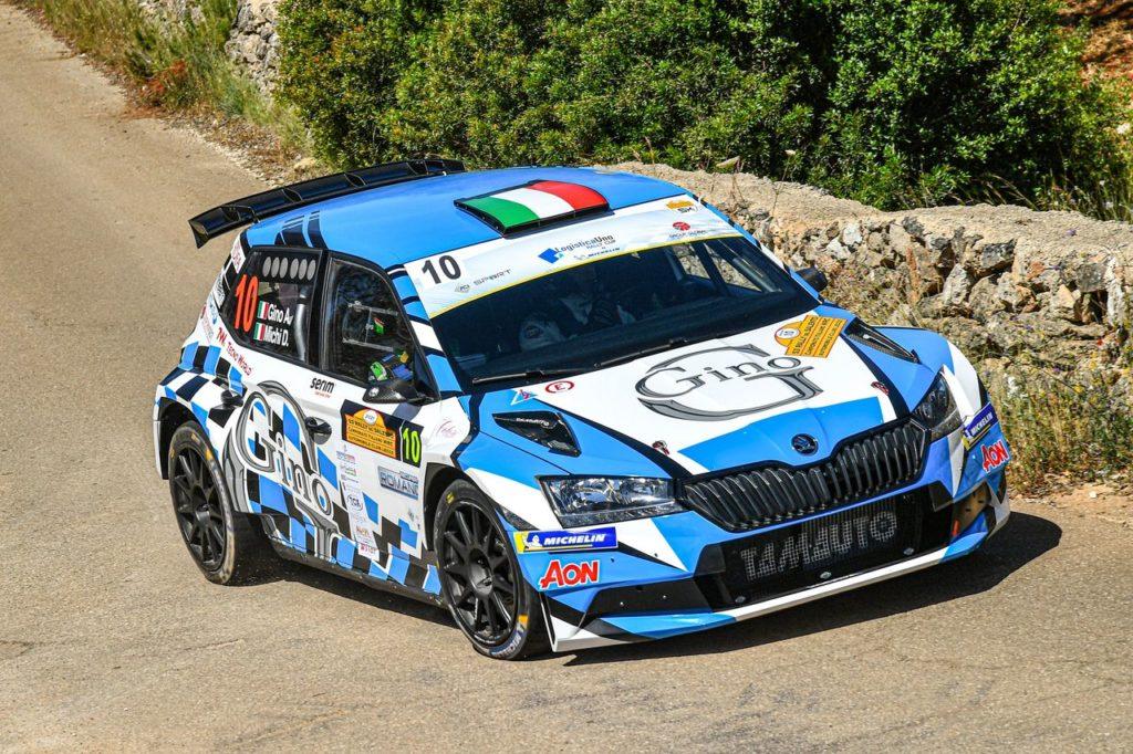 CIWRC | Trofeo LogisticaUno Michelin, Alessandro Gino conquista il podio nel debutto in Salento ed è nuovo leader