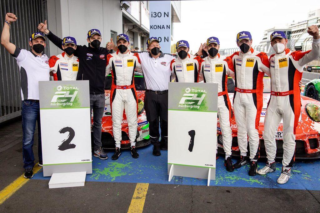 NLS   Altra doppietta di Porsche e Frikadelli nella gara di qualificazione della 24 Ore del Nurburgring