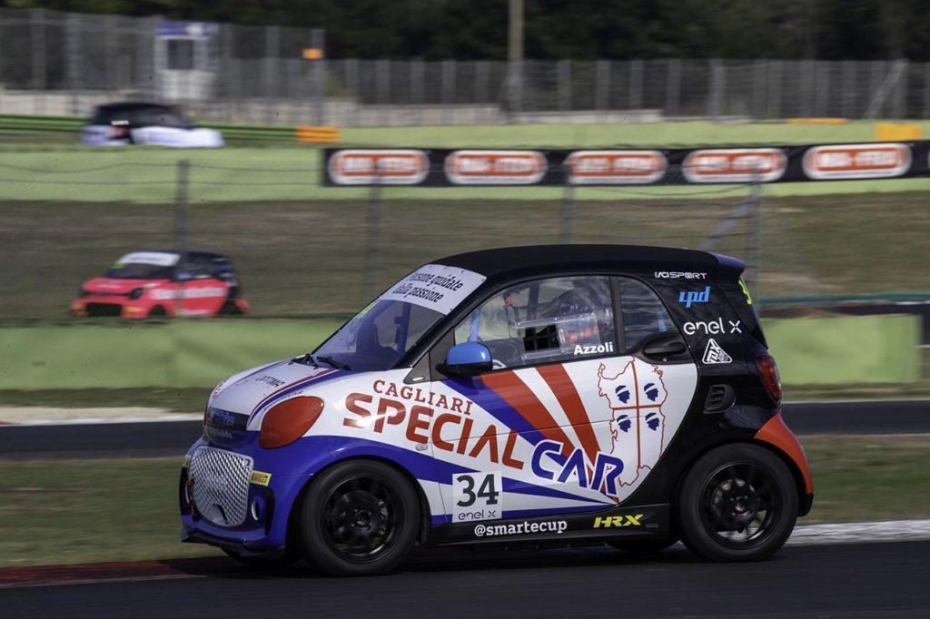 smart EQ fortwo e-cup | Special Car conferma Azzoli anche per la stagione 2021