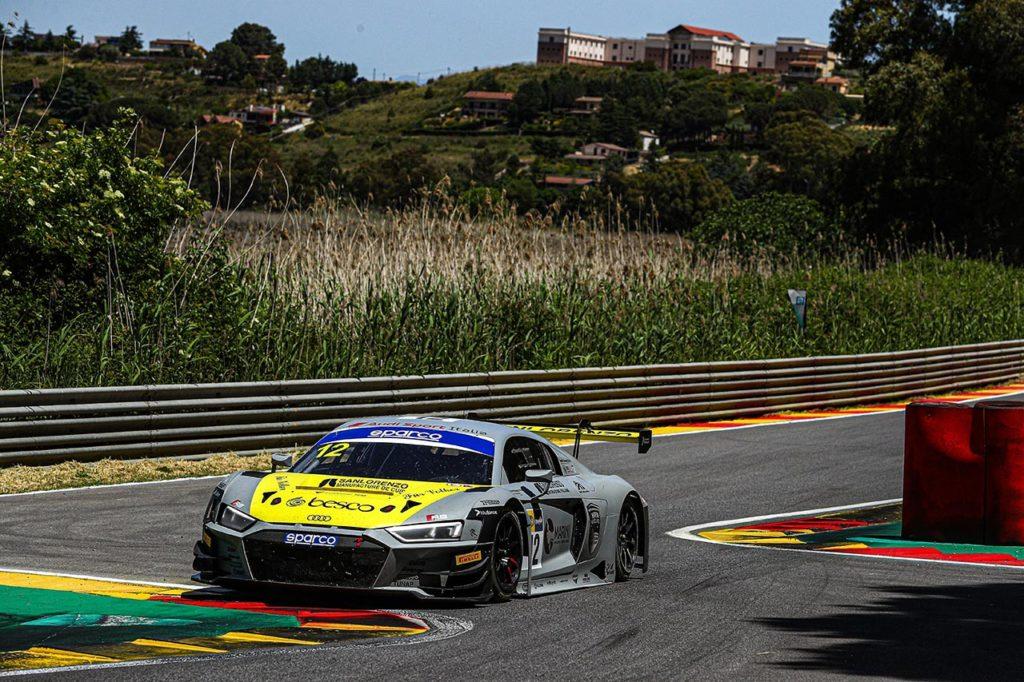 CIGT | Vittoria di Audi Sport Italia a Pergusa con Agostini-Drudi-Ferrari (nonostante un imprevisto)