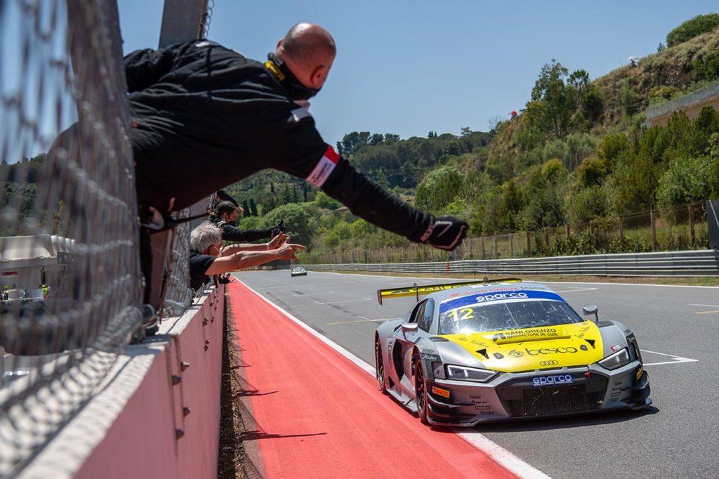 CIGT | L'Audi di Drudi-Ferrari-Agostini conquista la gara endurance di Pergusa