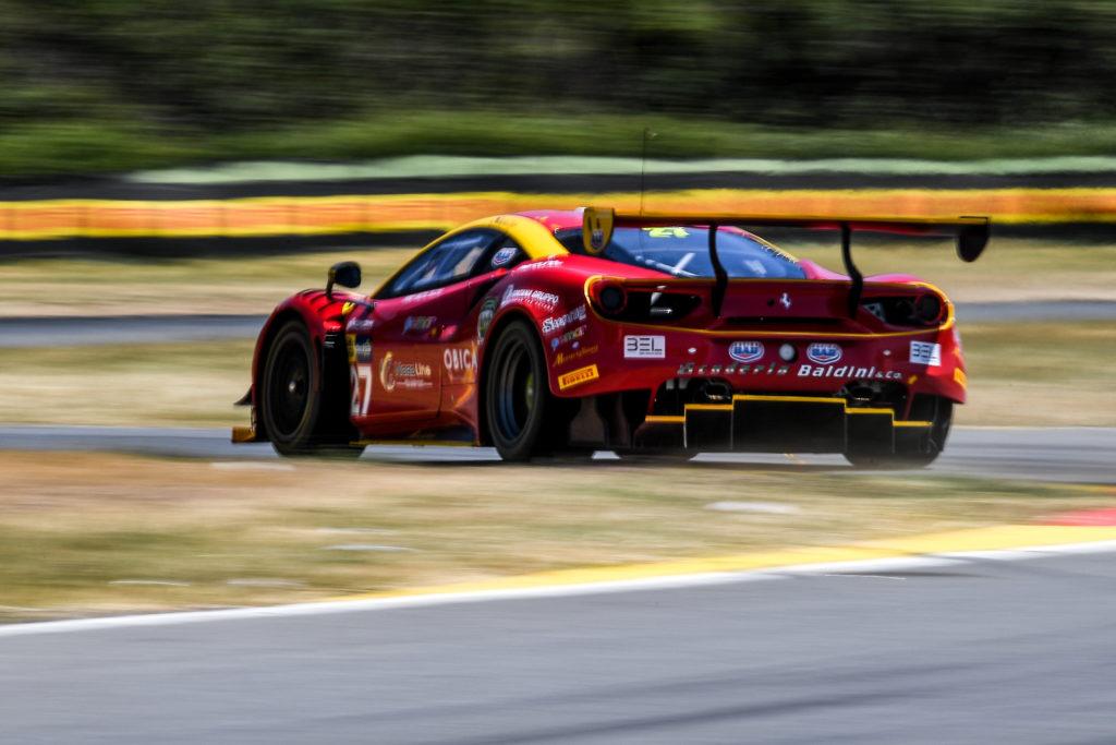 CIGT | Ferrari centra il podio a Pergusa con Fisichella-Gai-Zampieri e Scuderia Baldini