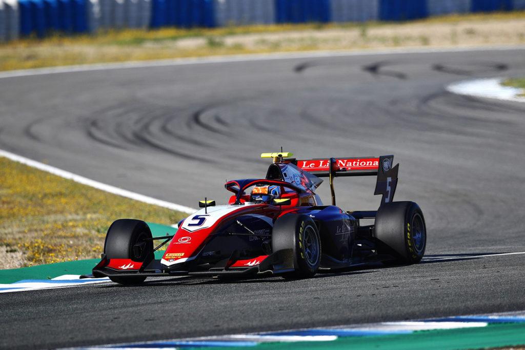 F3   Test Jerez, Giorni 1-2: Novalak il più veloce con Trident