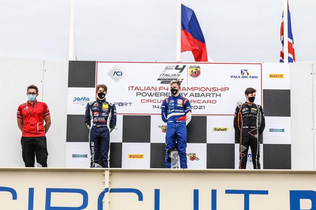 F4 Italia | Prima vittoria per Smal e Prema in Gara 1 a Le Castellet