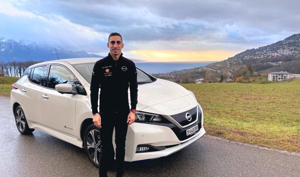"""Nissan LEAF, Sébastien Buemi e le sue giornate in elettrico: """"La uso ogni giorno"""""""