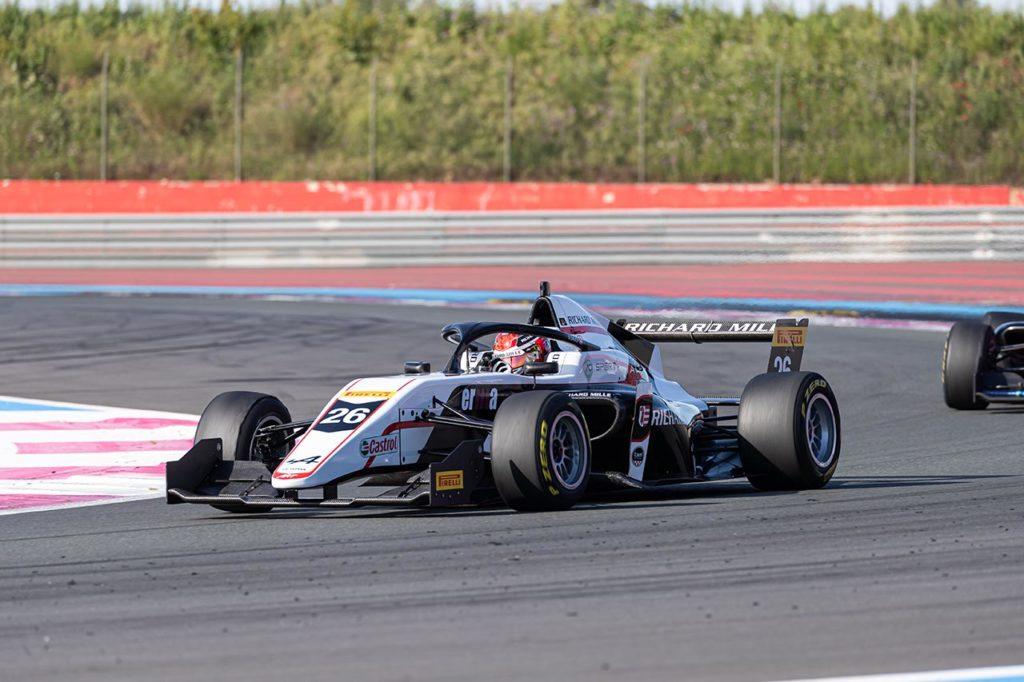 Formula Regional by Alpine   Saucy domina la prima sessione di qualifiche a Le Castellet
