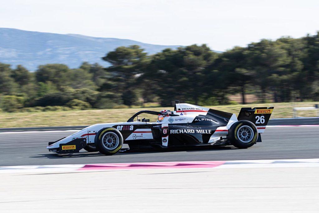 Formula Regional by Alpine | Saucy mette una pezza a Le Castellet: pole position per Gara 2
