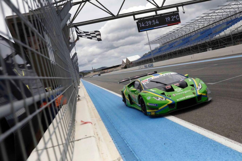 GT Open   Vincenzo Sospiri Racing ottiene una vittoria a Le Castellet con Lamborghini
