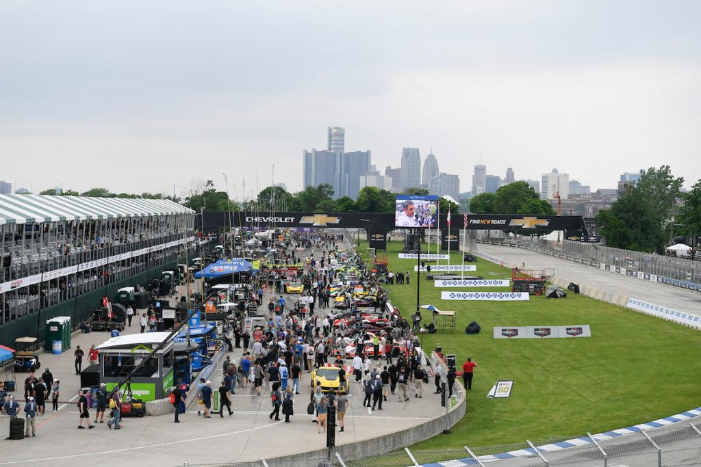 IMSA   Paddock aperto ai fan a Detroit: non accadeva dalla 24 Ore di Daytona 2020