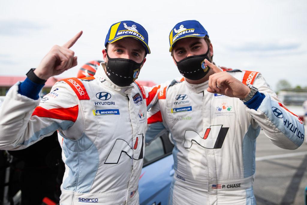 Michelin Pilon Challenge   La Hyundai Elantra N TCR ottiene la prima vittoria in Mid-Ohio