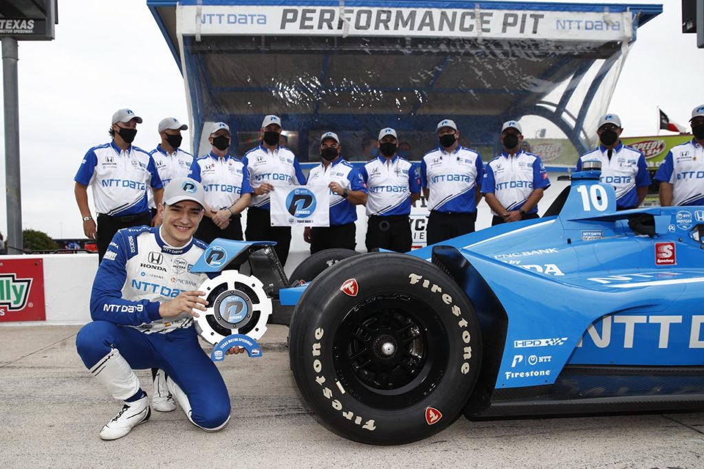 IndyCar | Annullate le qualifiche in Texas per maltempo, griglia stabilita dalla classifica di campionato
