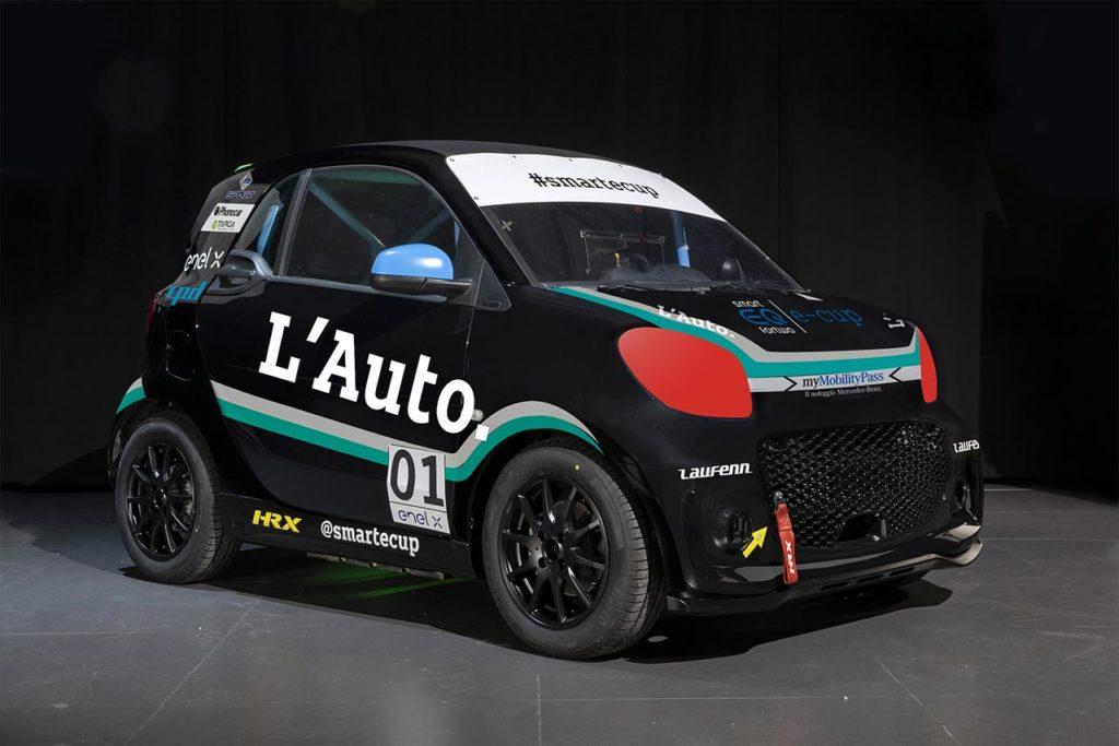 smart EQ fortwo e-cup | Debutta L'Auto. nella stagione 2021 con Ferrara (e Patrinicola)