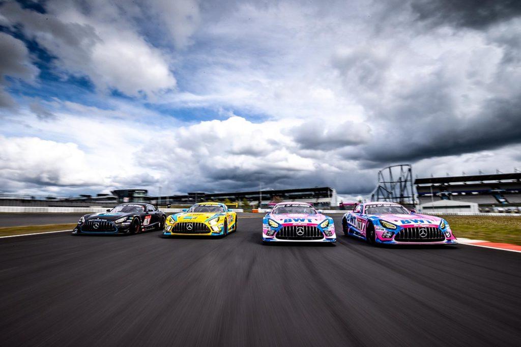 NLS | Quattro Mercedes-AMG GT3 Evo con supporto ufficiale alla 24 Ore del Nurburgring