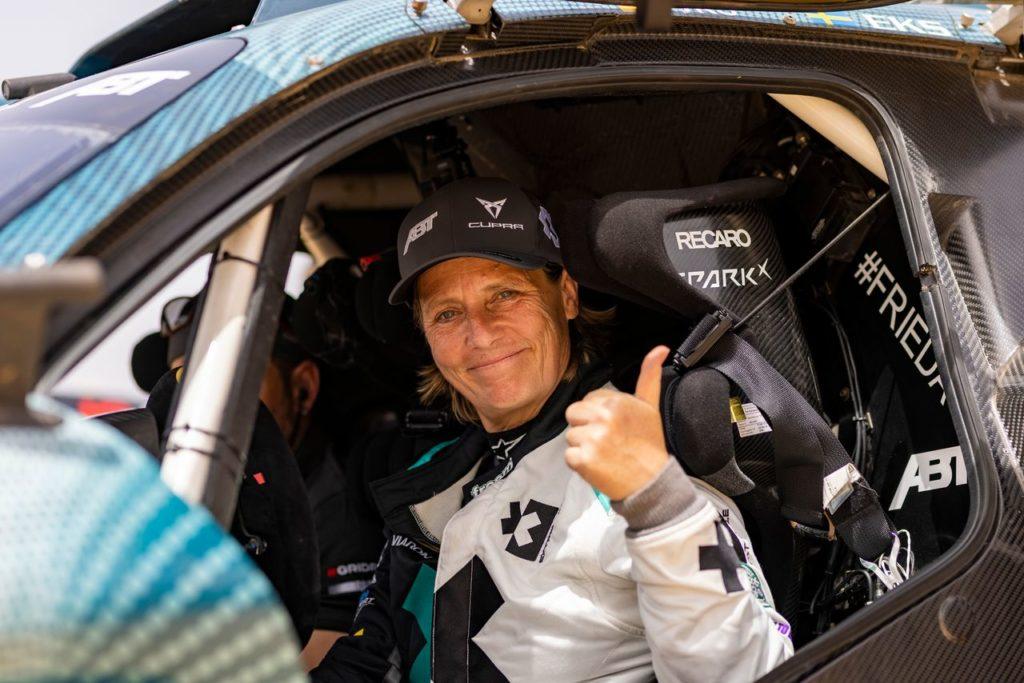 Extreme E | ABT Cupra, Hurtgen cede il sedile a Jutta Kleinschmidt