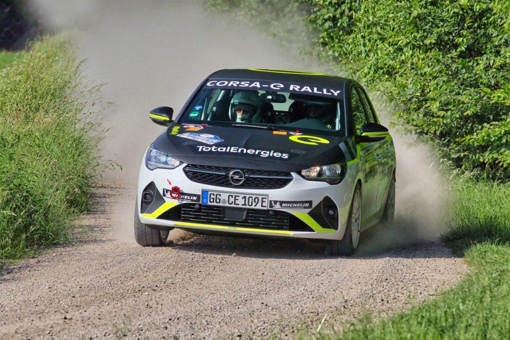 ADAC Opel e-Rally Cup, il primo appuntamento stagionale vinto da Laurent Pellier [VIDEO]