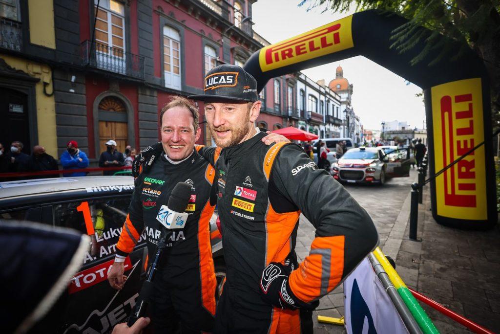 ERC   Rally Polonia 2021, la lista iscritti