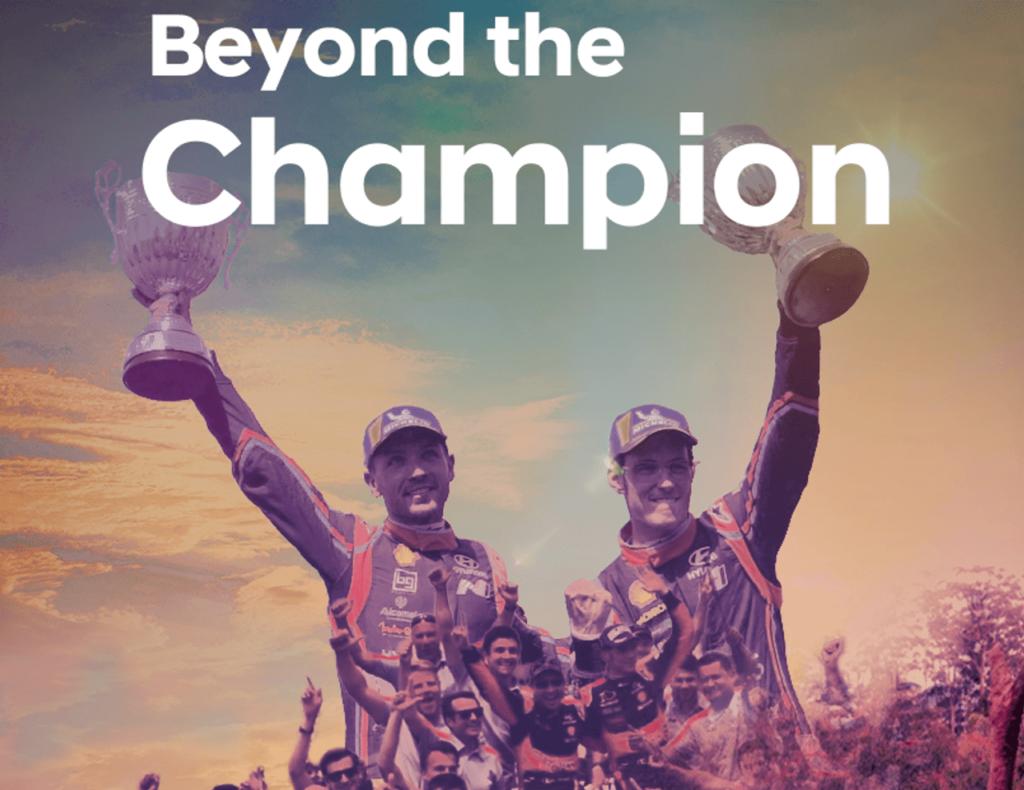 """WRC   Hyundai lancia la docuserie """"Beyond the Champion"""""""