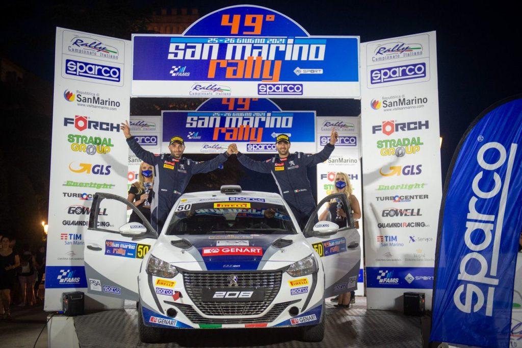 CIR   I Nucita salvano il podio al San Marino Rally e tornano leader tra le Due Ruote Motrici