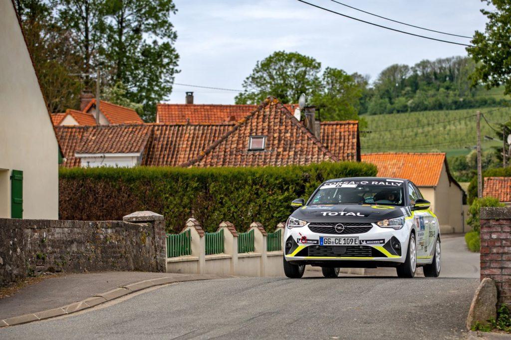 L'Opel Corsa e-Rally ha debuttato al Rallye Le Touquet, dove la Corsa Rally4 ha vinto nella categoria RC4