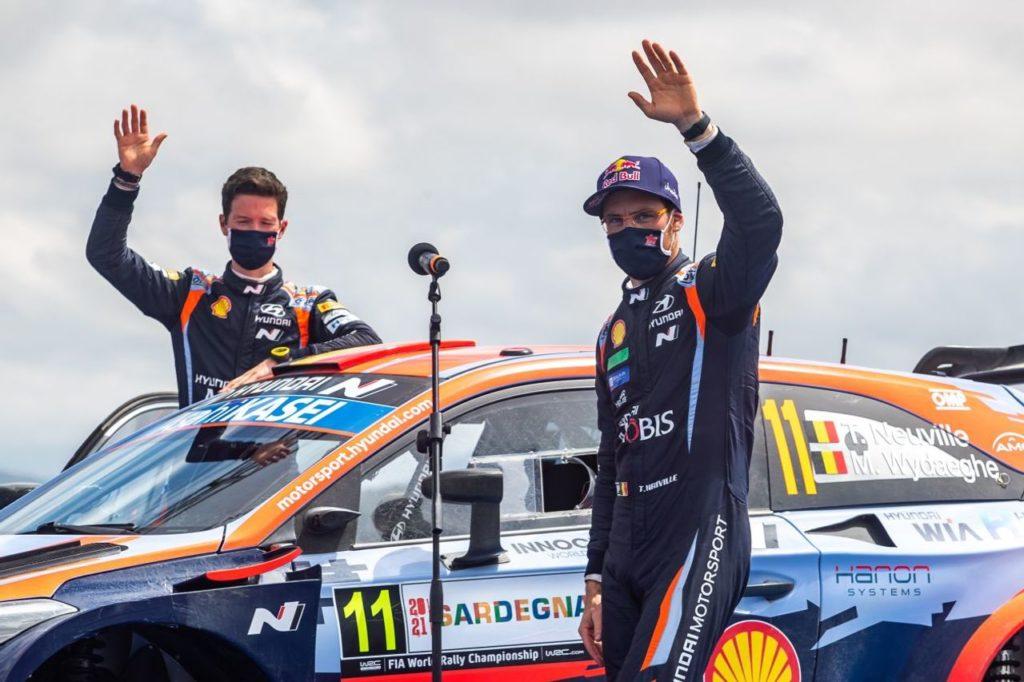 WRC | Il weekend deludente di Hyundai al Rally Italia Sardegna, salvato dal podio di Neuville. Solberg al Rally Alba