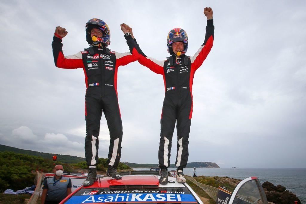 WRC   Rally Italia Sardegna 2021, il trionfo di Ogier e l'allungo di Toyota in classifica