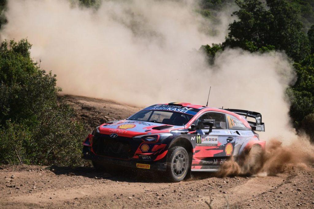 WRC | Rally Italia Sardegna 2021, shakedown: miglior tempo per Neuville davanti a Tanak